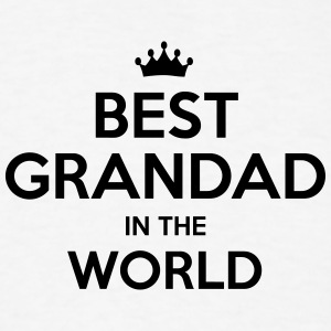 best grandad in the world t-shirt - Men's T-Shirt