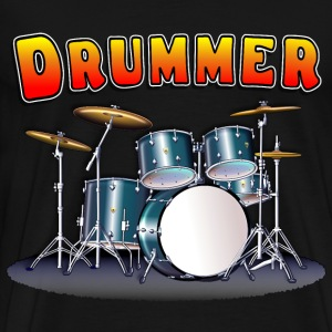 Drummer's Drum Set - Men's Premium T-Shirt