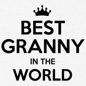 best granny in the world t-shirt - Men's T-Shirt