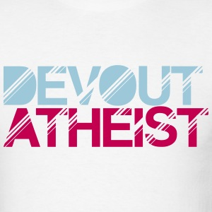 devout atheist t-shirt - Men's T-Shirt