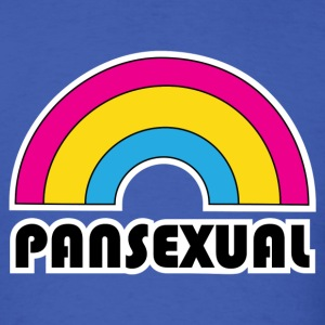 Rainbow Pansexual LGBT Pride T-Shirts - Men's T-Shirt