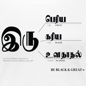 Be Black & Great Women's T-Shirts - Women's Premium T-Shirt