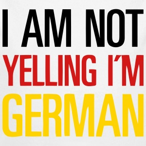 I AM NOT YELLING - I'M GERMAN Baby Bodysuits - Long Sleeve Baby Bodysuit