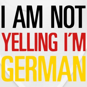 I AM NOT YELLING - I'M GERMAN Caps - Bandana