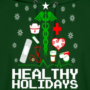 Healthy Holidays Nurse Hoodies - Men's Hoodie