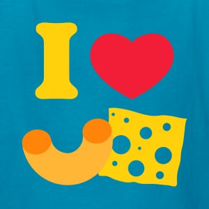 I Heart Mac And Cheese Kids' Shirts - Kids' T-Shirt