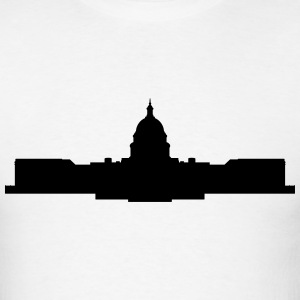 capitol building t-shirt - Men's T-Shirt