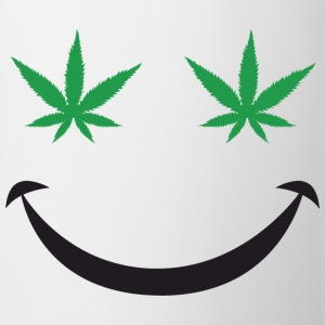 Marijuana Smiley - Coffee/Tea Mug