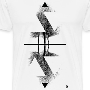 AD Reflection T-Shirts - Men's Premium T-Shirt