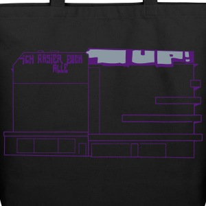 Graffiti at Hermannplatz Bags & backpacks - Eco-Friendly Cotton Tote