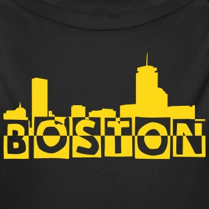Boston Skyline Baby Bodysuits - Long Sleeve Baby Bodysuit