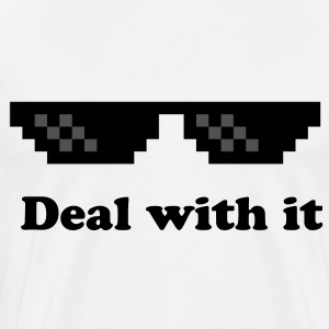 Deal with it T-shirt 2 - Men's Premium T-Shirt