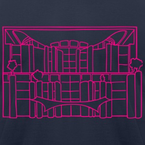 Chancellery in Berlin T-Shirts - Men's T-Shirt by American Apparel