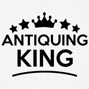 antiquing king stars t-shirt - Men's T-Shirt