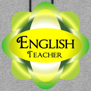 English Teacher  Hoodies - Colorblock Hoodie