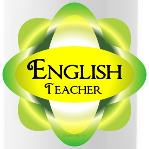 English Teacher  Mugs & Drinkware - Water Bottle