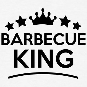 barbecue king stars t-shirt - Men's T-Shirt