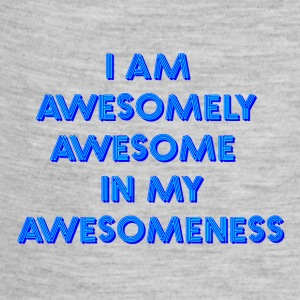I am awesomely awesome in my awesomeness - Baby Contrast One Piece