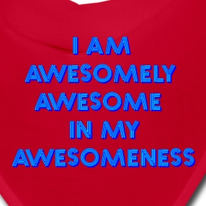 I Am Awesome Caps Spreadshirt