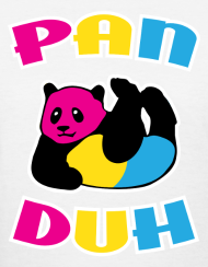 Pansexual panda shirt