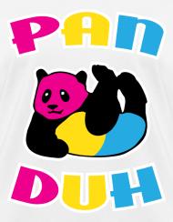 Pansexual panda shirt