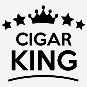 cigar king stars t-shirt - Men's T-Shirt