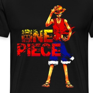 burn luffy - Men's Premium T-Shirt