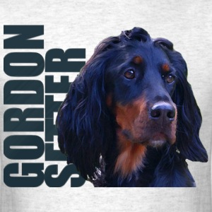 Gordon Setter Dog T-Shirts - Men's T-Shirt