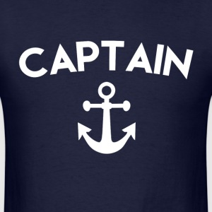 Captain Anchor - Men's T-Shirt