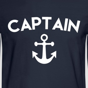 Captain Anchor - Men's Long Sleeve T-Shirt