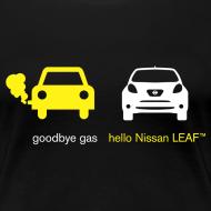 Design ~ Women's Goodbye Gas Hello LEAF