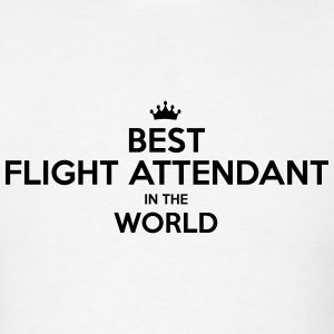 best flight attendant in the world t-shirt - Men's T-Shirt