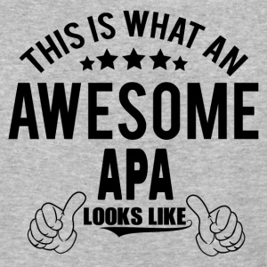 THIS IS WHAT AN AWESOME APA LOOKS LIKE T-Shirts - Baseball T-Shirt
