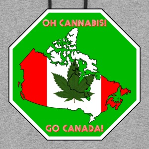 Oh Cannabis Go Canada - Colorblock Hoodie