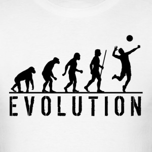Funny Evolution Volleyball - Men's T-Shirt