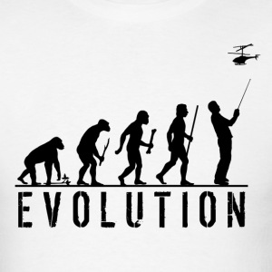 RC Aircraft Evolution - Men's T-Shirt