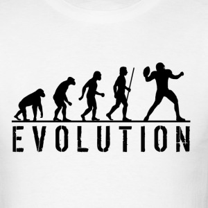 Evolution American Football - Men's T-Shirt