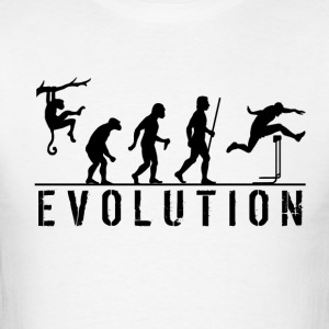 Evolution of Hurdles - Men's T-Shirt