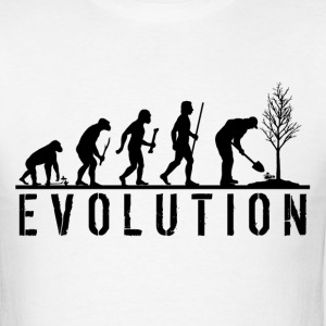 Evolution Gardening T Shirt - Men's T-Shirt