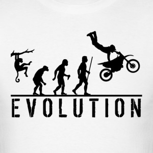 Dirt Bike Stunt T Shirt - Men's T-Shirt