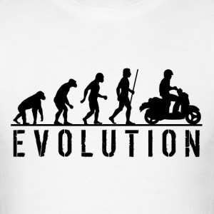 Moped Evolution T Shirt - Men's T-Shirt