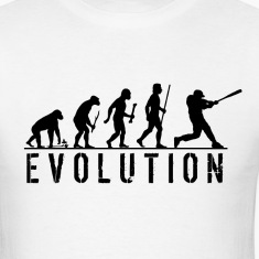 Evolution Baseball T Shirt