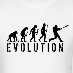 Evolution Baseball T Shirt - Men's T-Shirt