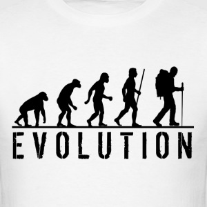 Evolution of Hiking - Men's T-Shirt
