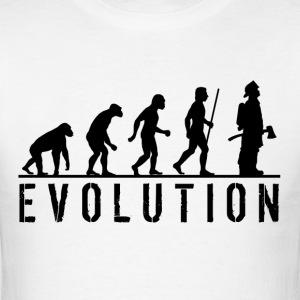 Firefighter Evolution T Shirt - Men's T-Shirt