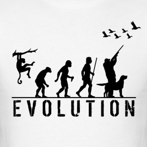 Duck Hunting Evolution T Shirt - Men's T-Shirt