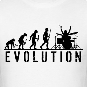 Evolution Drums T Shirt - Men's T-Shirt