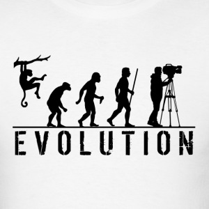 Evolution Cameraman - Men's T-Shirt