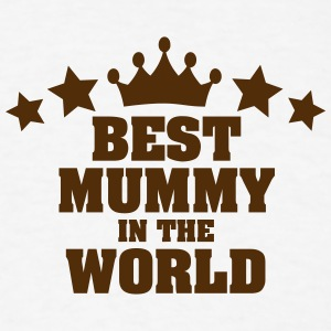 best mummy in the world stars t-shirt - Men's T-Shirt