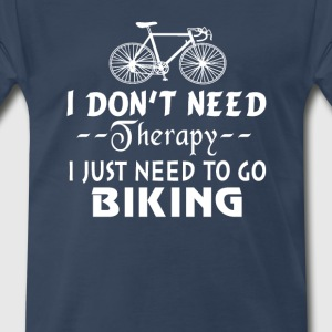 GO BIKING - Men's Premium T-Shirt